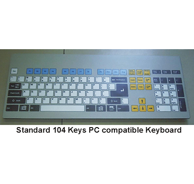 Industrial PC Based Sealed Keyboards, Panels