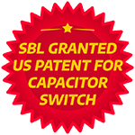 SBL granted US Patent for Capacitor Switch